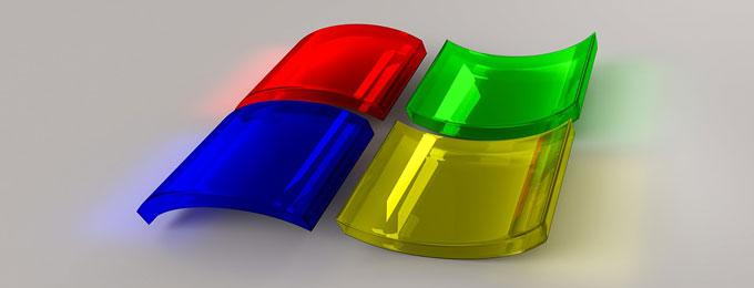 windows perspex logo